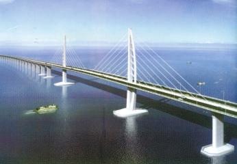 港珠澳桥接线工程终动工