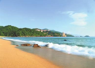 深圳大鹏半岛的海洋资源是未来大鹏半岛发展的基石