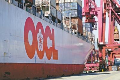 东方海外昨日公布去年全年载货量表现,共载货521.